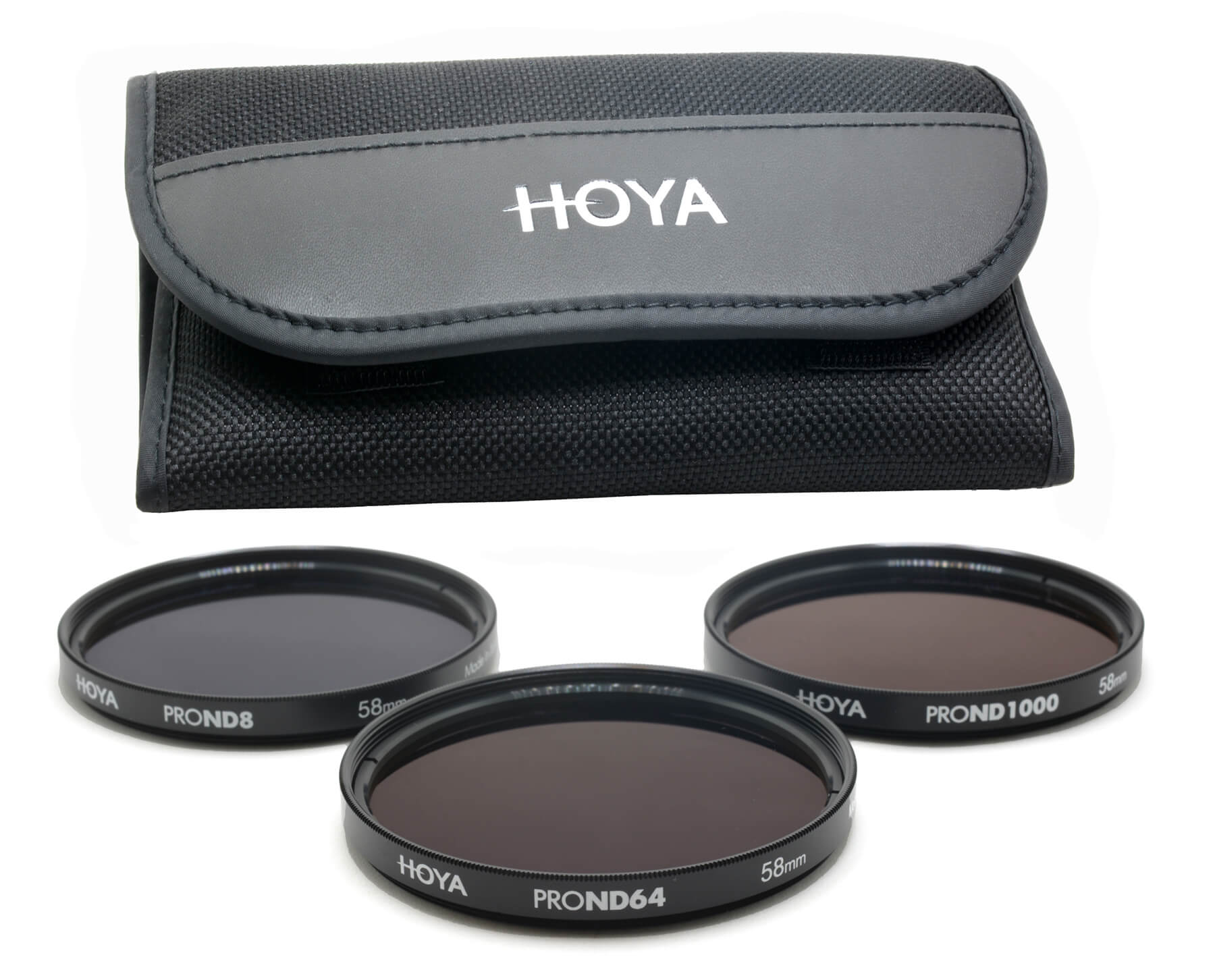 Hoya ProND filters and pouch
