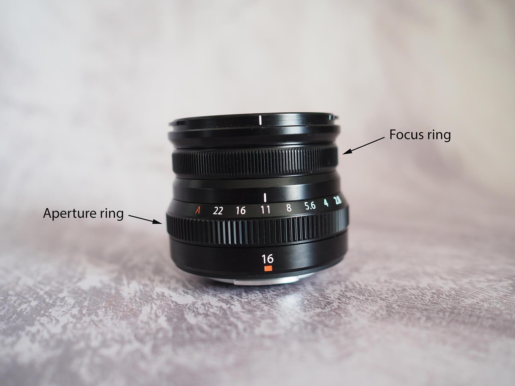 Lens aperture ring