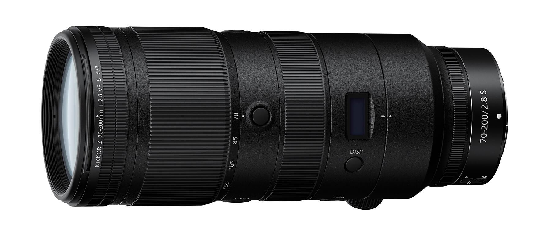 Nikon 70-200mm f/2.8 Z VR S